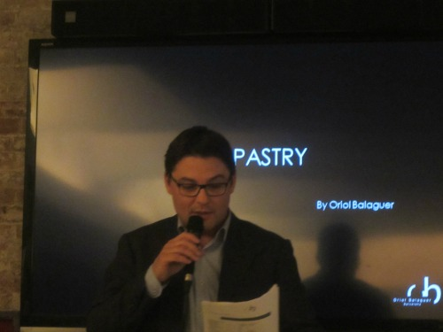 4 - Oriol Balaguer discusses pastry