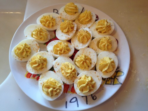 Deviled Eggs with Old Bay